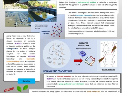 Bizente has been presented in Biotrans 2021: Biocatalytic solutions for the end-of-life of thermoset materials