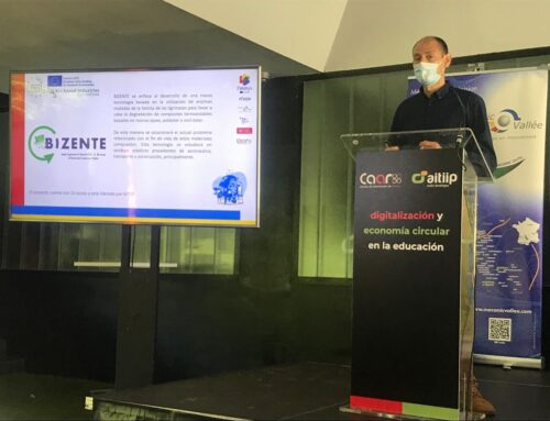 BIZENTE shows its enzymatic degradation model in a Spanish workshop on Circular Economy in industry